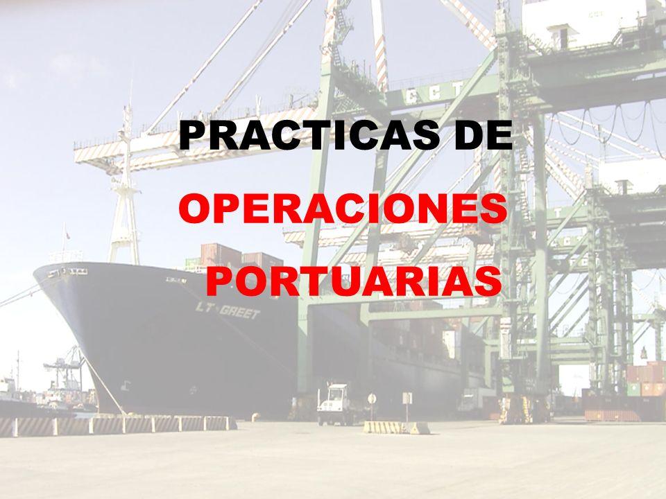 PRACTICAS DE OPERACIONES PORTUARIAS