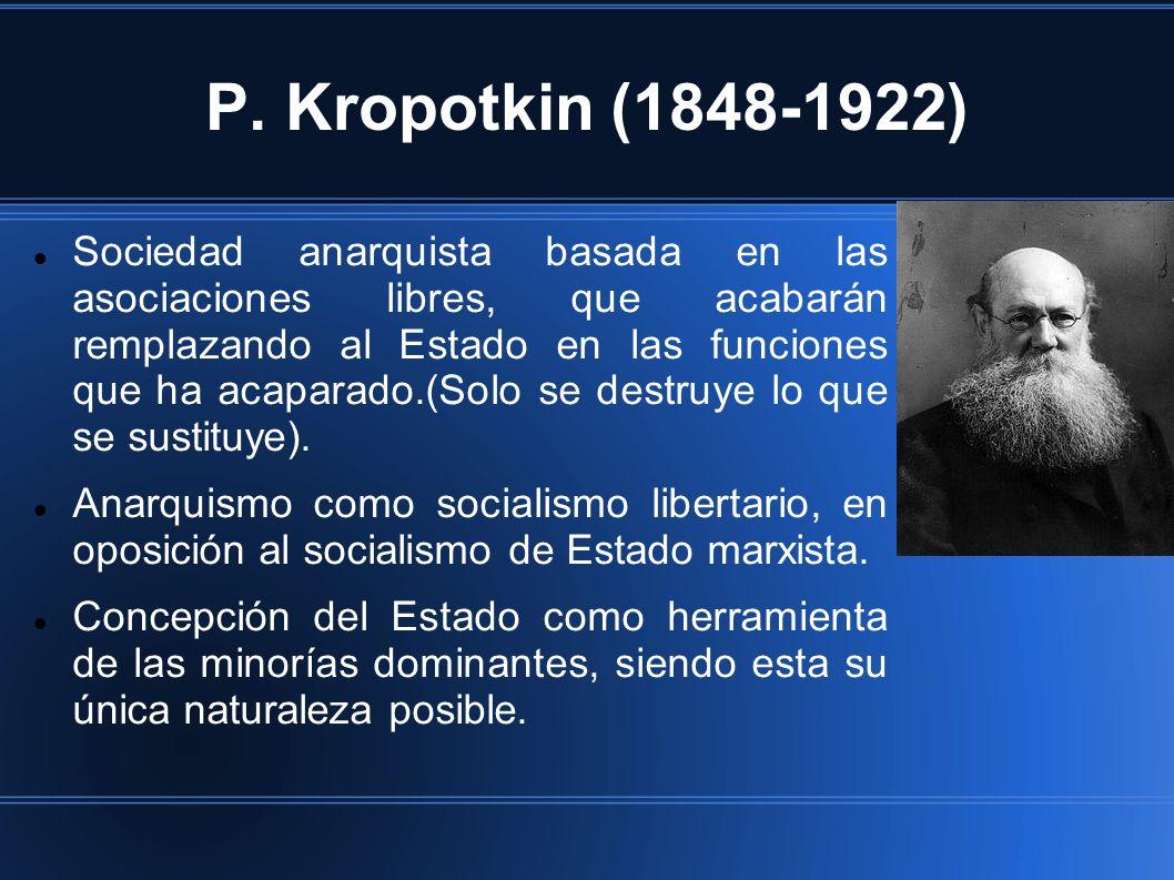 P. Kropotkin (1848-1922)