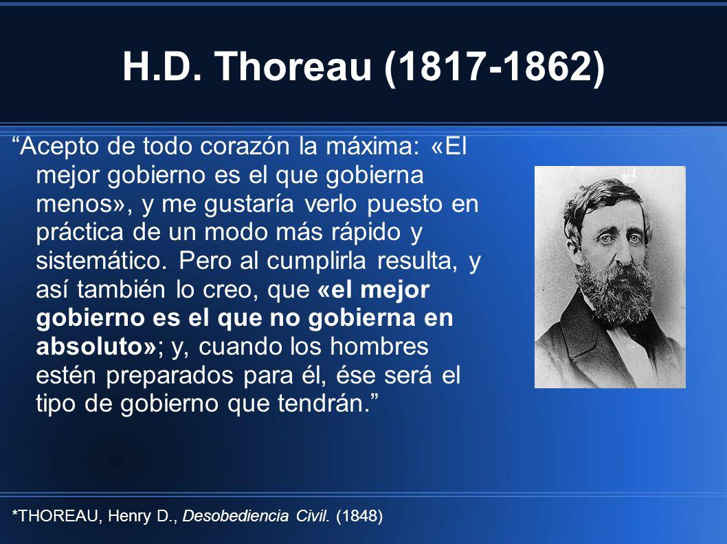 H.D. Thoreau (1817-1862)