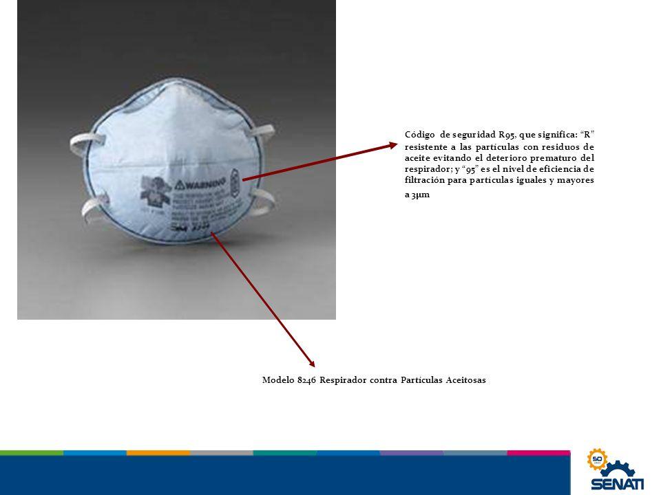 Modelo 8246 Respirador contra Partículas Aceitosas