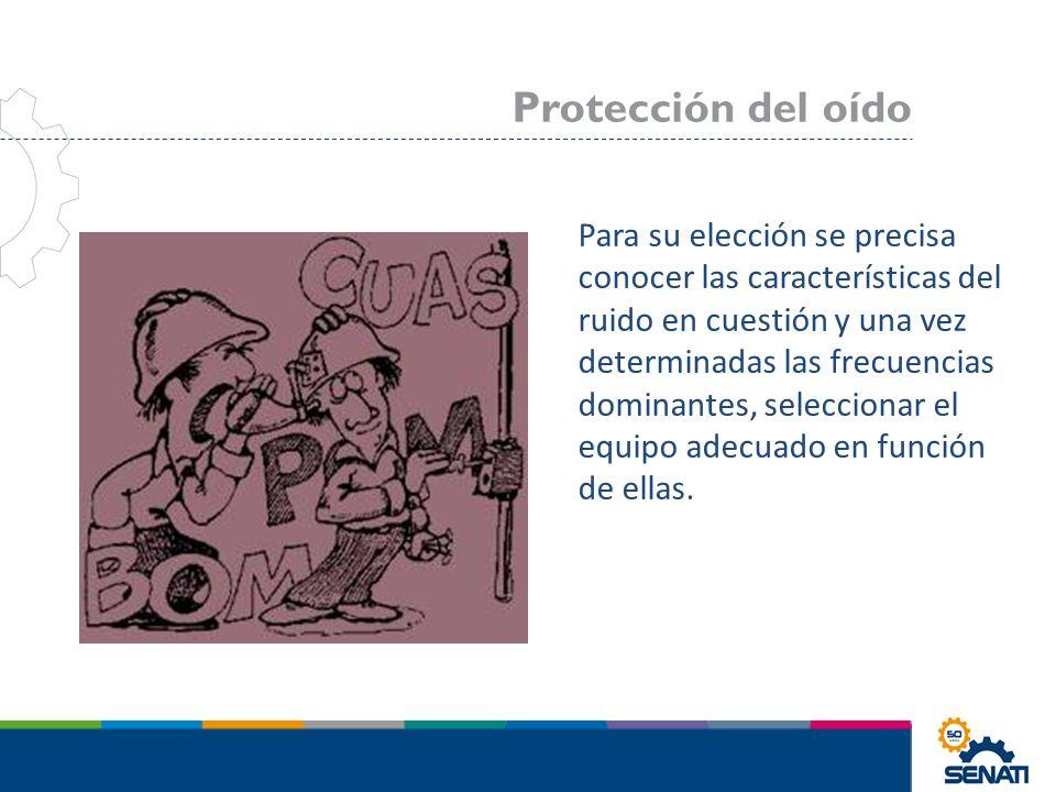 Protección del oído