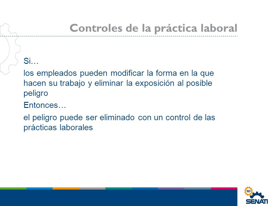 Controles de la práctica laboral