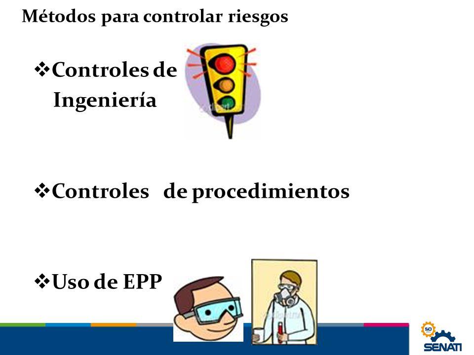 Controles de procedimientos