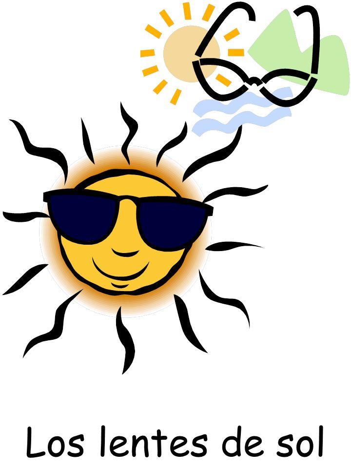 Los lentes de sol