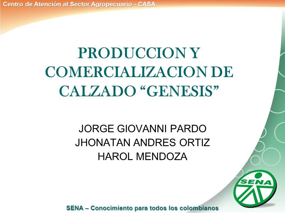 PRODUCCION Y COMERCIALIZACION DE CALZADO GENESIS