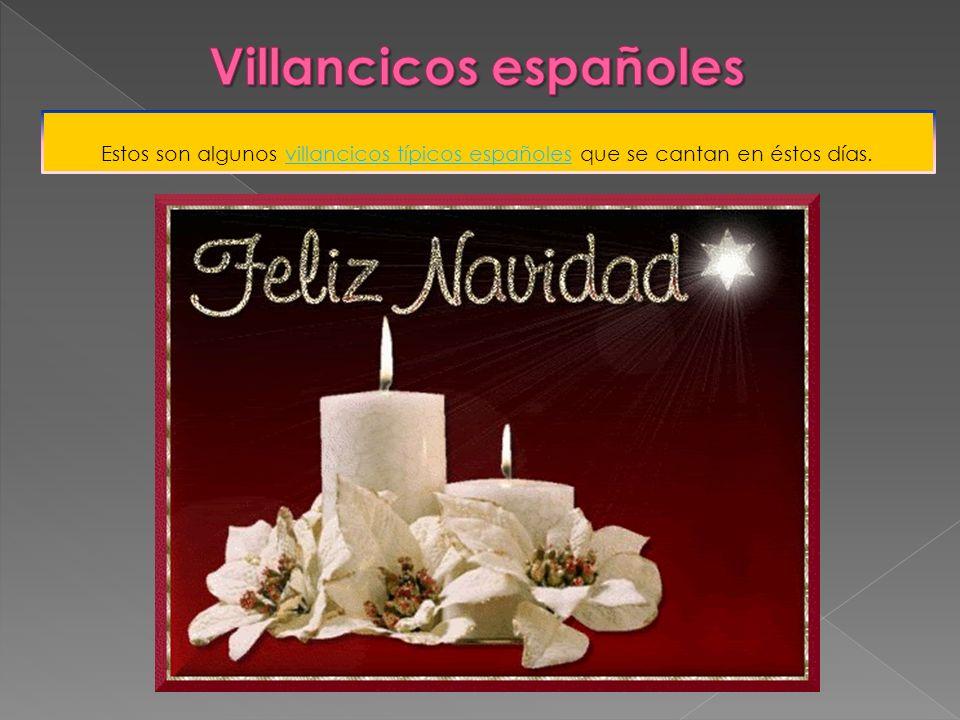 Villancicos españoles