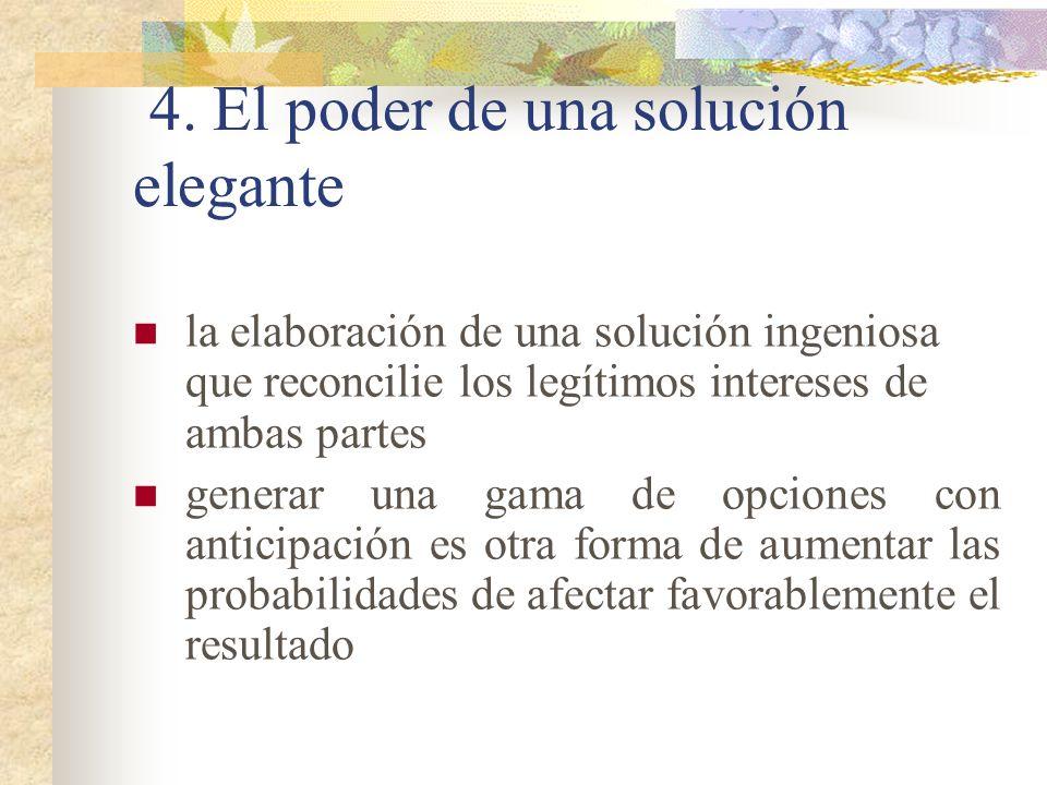 4. El poder de una solución elegante