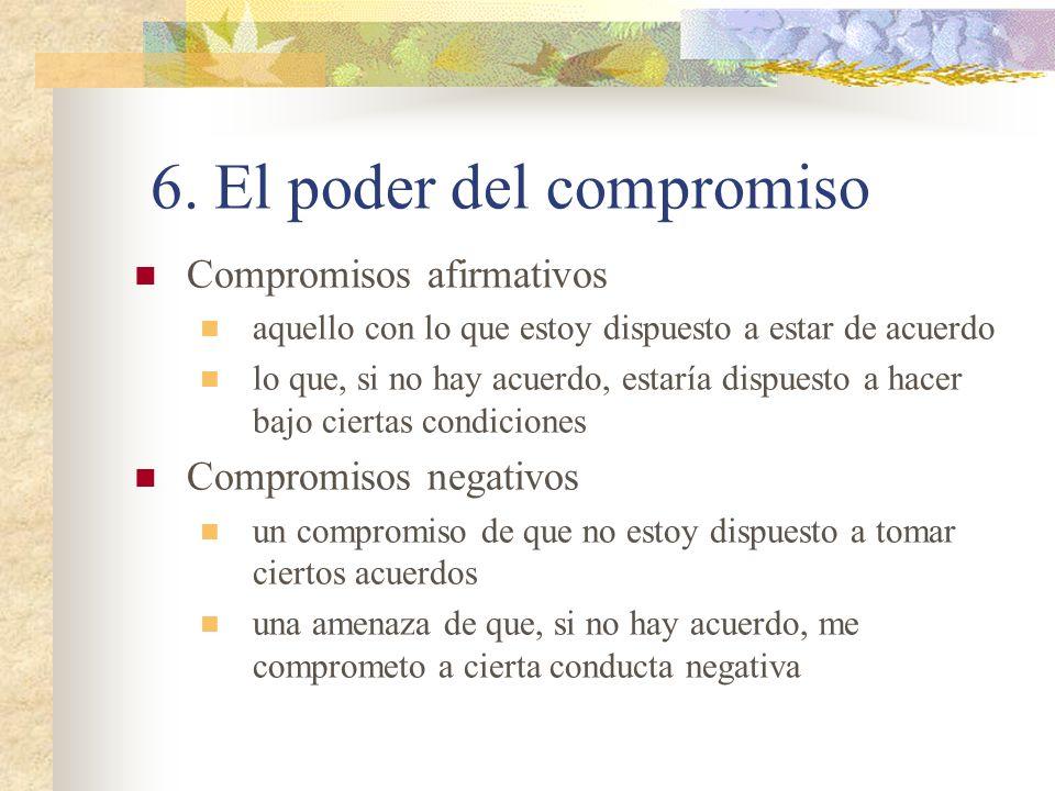 6. El poder del compromiso
