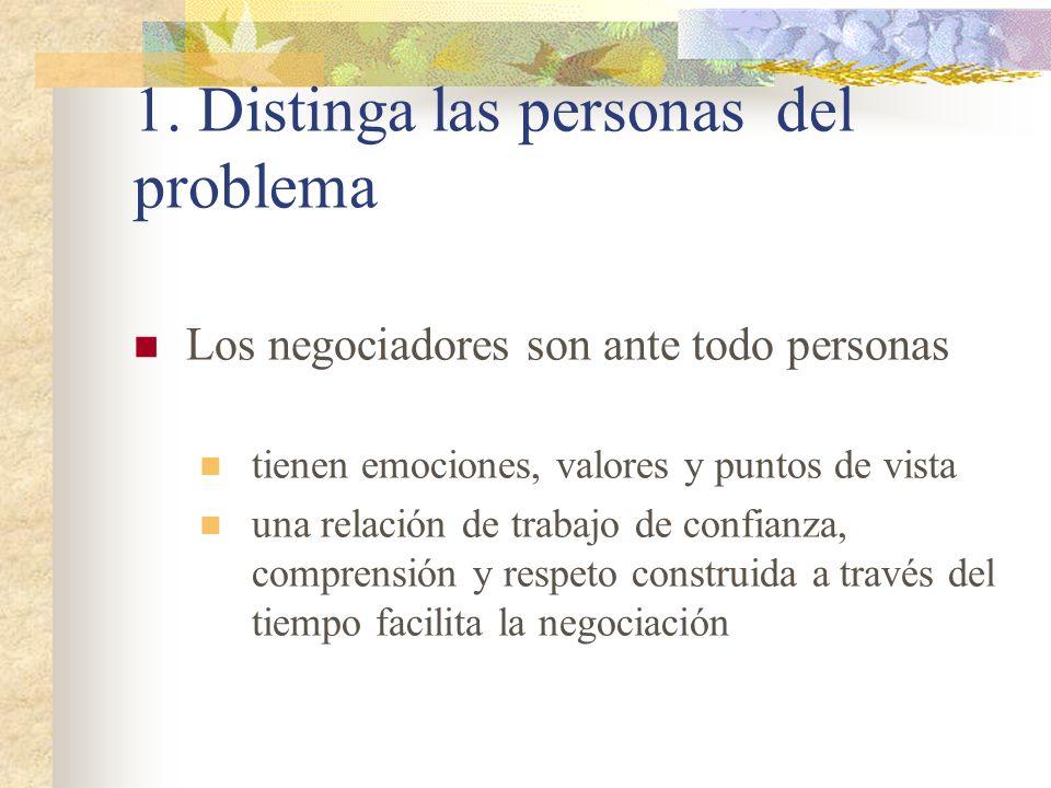 1. Distinga las personas del problema