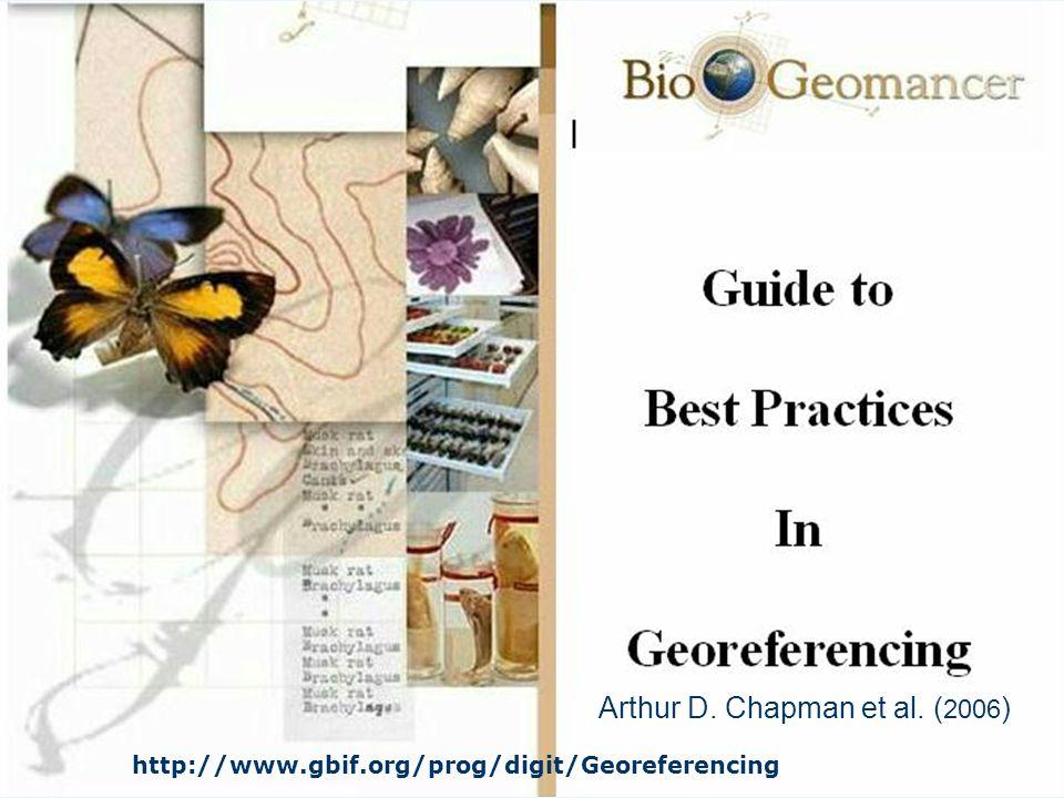 Arthur D. Chapman et al. (2006)