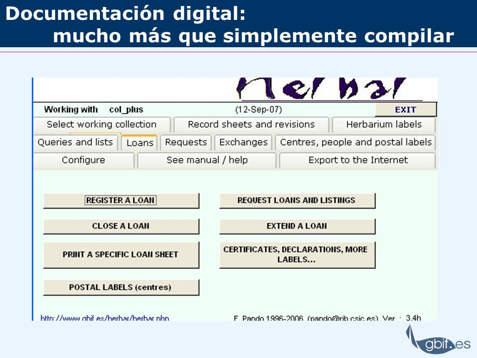 Documentación digital: mucho más que simplemente compilar