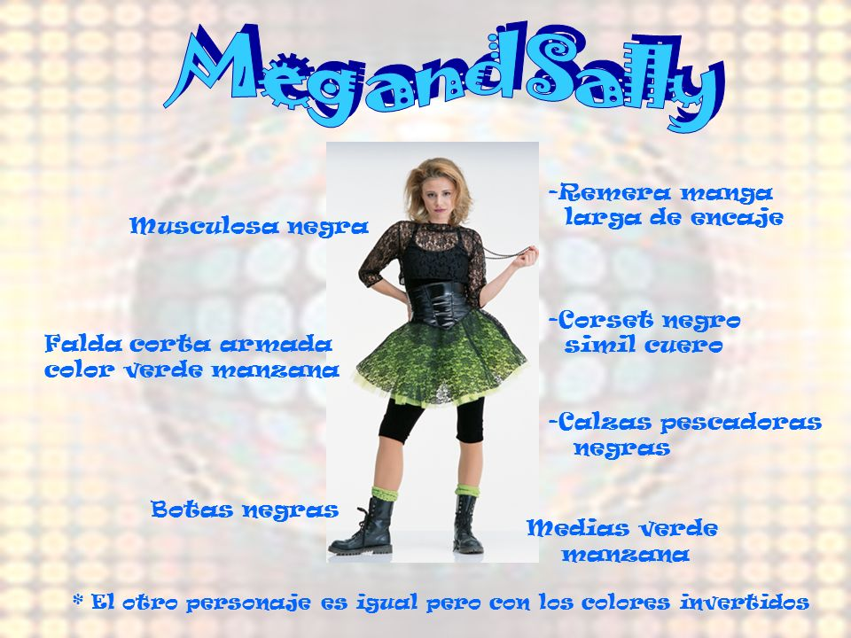 Meg and Sally Remera manga larga de encaje Musculosa negra