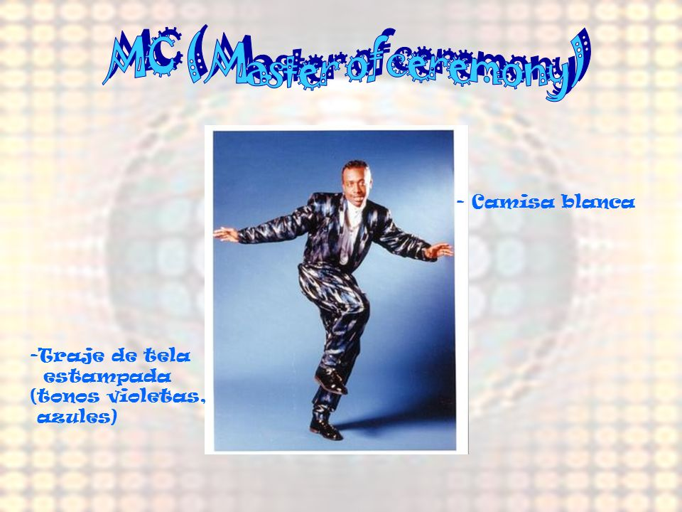 MC ( Master of ceremony)