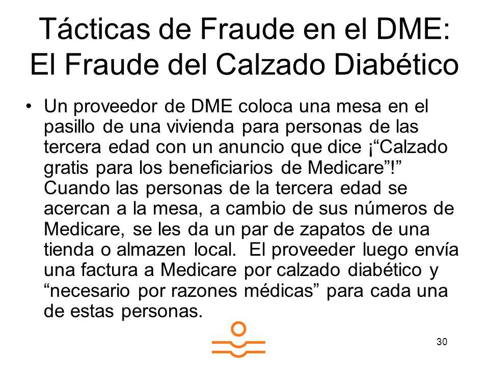 Tácticas de Fraude en el DME: El Fraude del Calzado Diabético