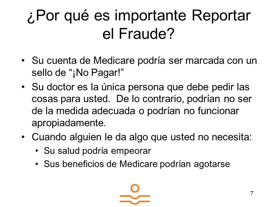 ¿Por qué es importante Reportar el Fraude