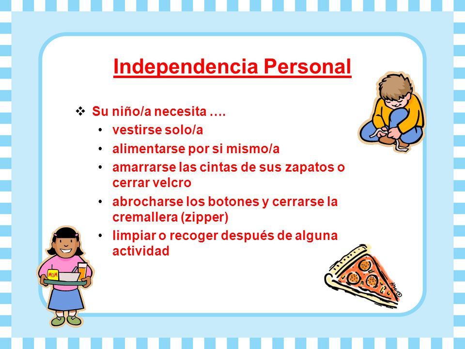 Independencia Personal