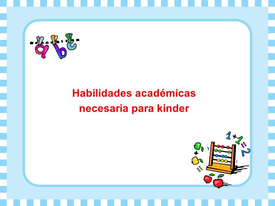 Habilidades académicas