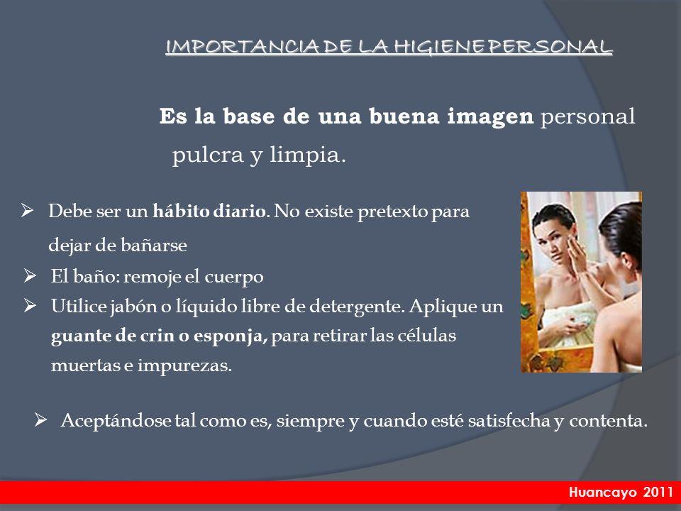 IMPORTANCIA DE LA HIGIENE PERSONAL