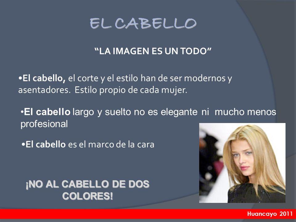 ¡NO AL CABELLO DE DOS COLORES!