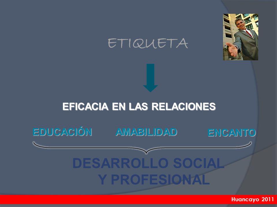 DESARROLLO SOCIAL Y PROFESIONAL