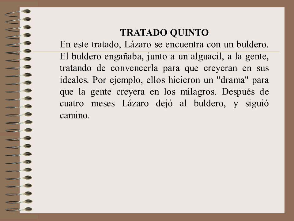TRATADO QUINTO