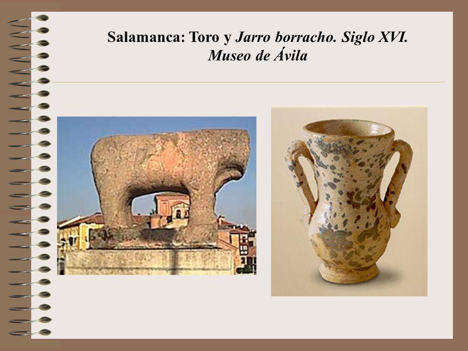 Salamanca: Toro y Jarro borracho. Siglo XVI. Museo de Ávila