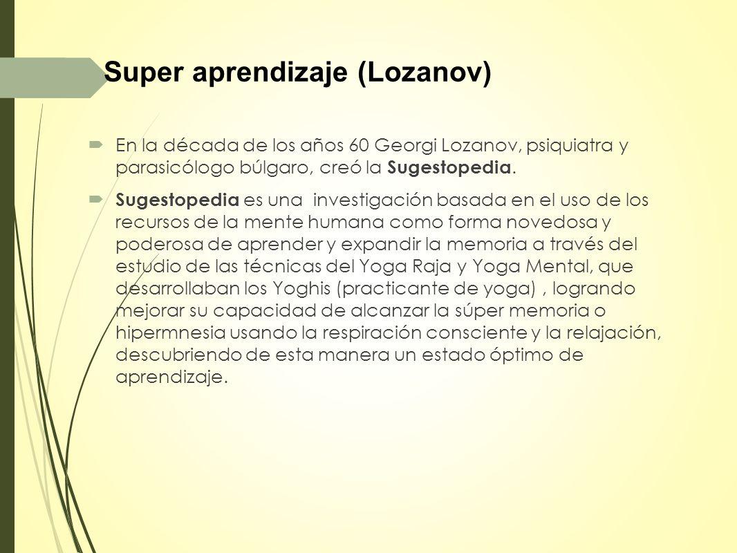 Super aprendizaje (Lozanov)