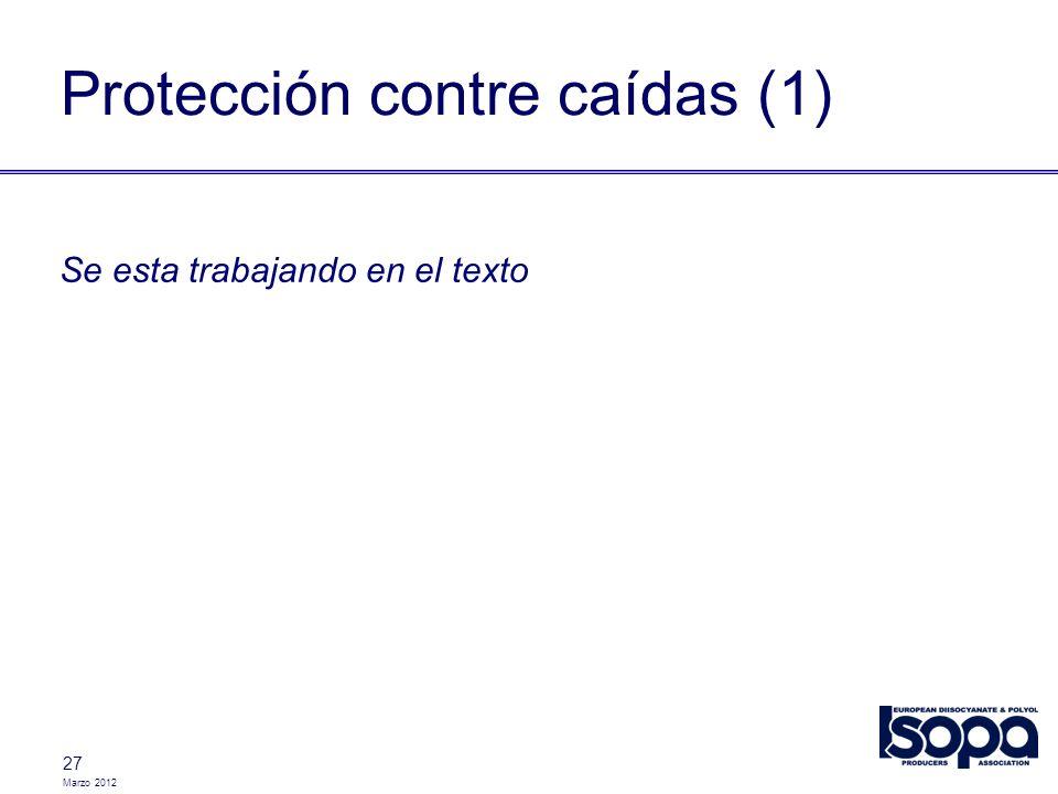 Protección contre caídas (1)