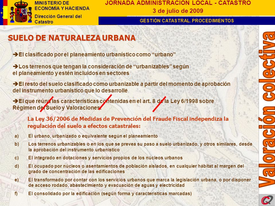 SUELO DE NATURALEZA URBANA