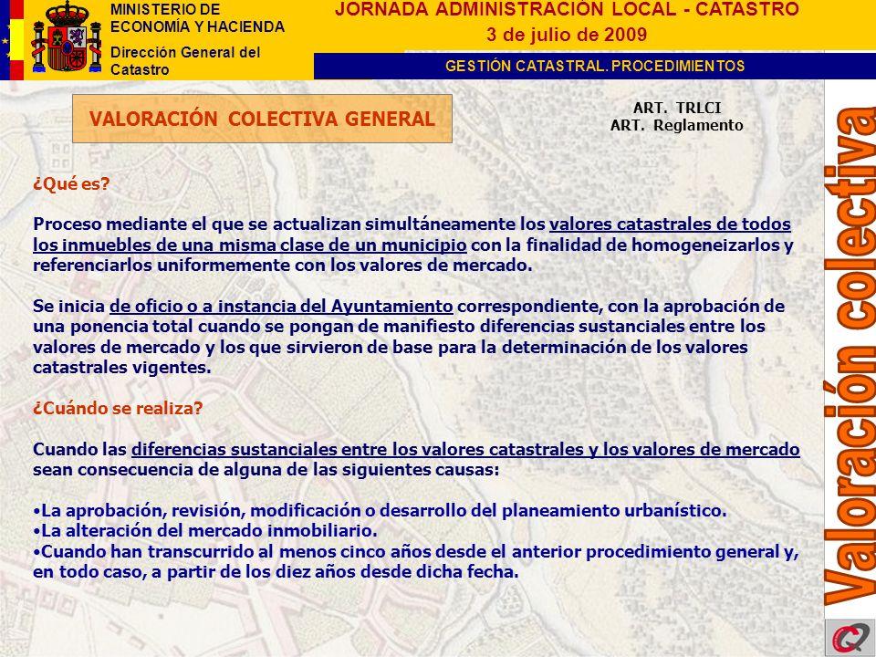 VALORACIÓN COLECTIVA GENERAL