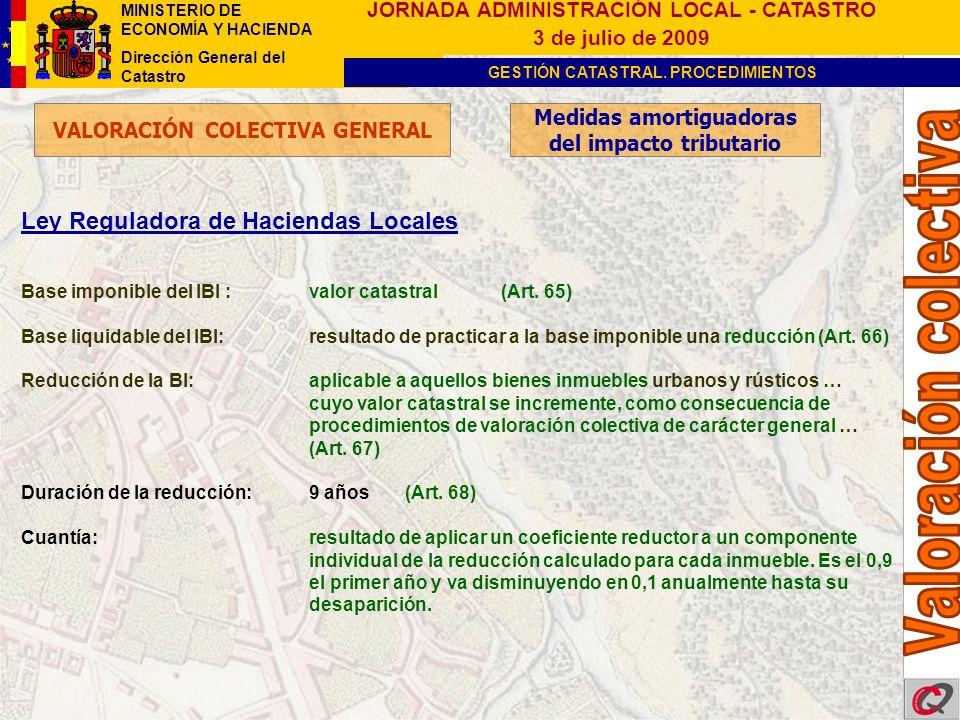 Valoración colectiva Ley Reguladora de Haciendas Locales