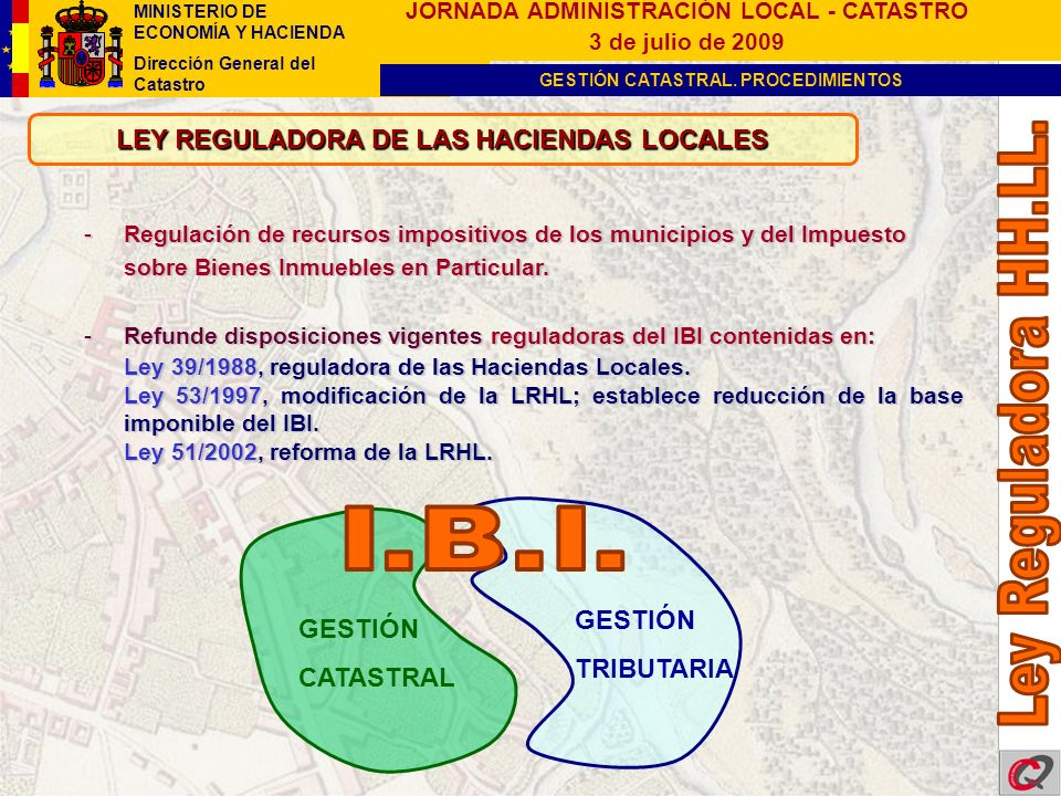 LEY REGULADORA DE LAS HACIENDAS LOCALES