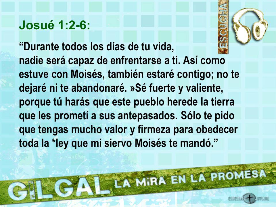 Josué 1:2-6: