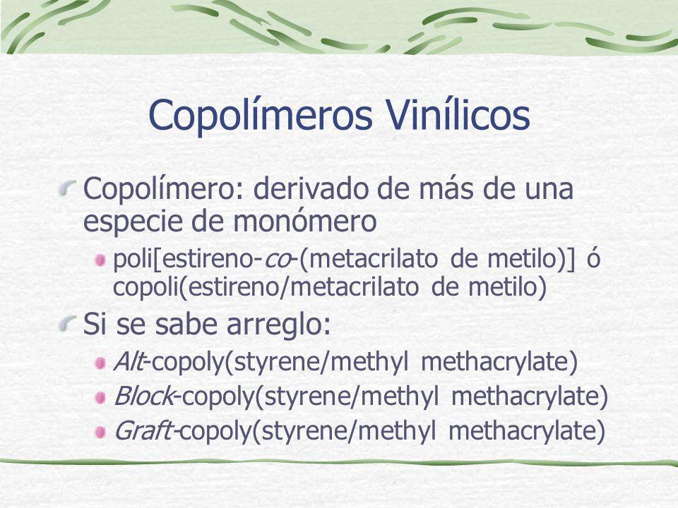 Copolímeros Vinílicos