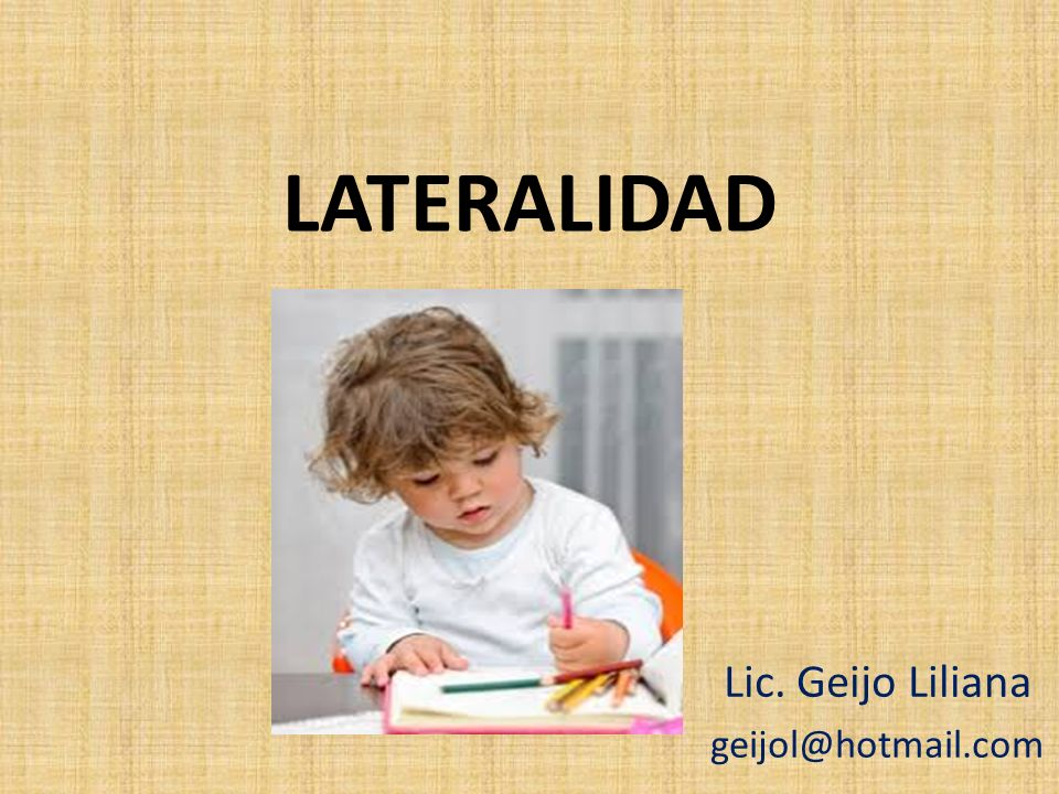 Lic. Geijo Liliana geijol@hotmail.com