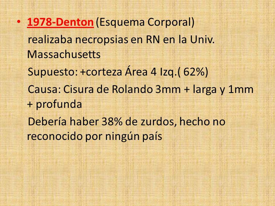 1978-Denton (Esquema Corporal)