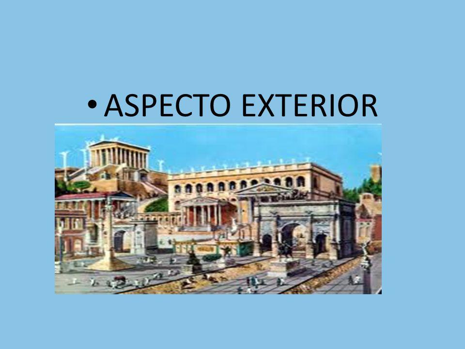 ASPECTO EXTERIOR ASPECTO EXTERIOR
