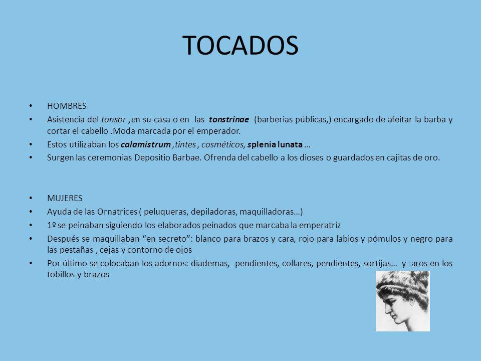 TOCADOS HOMBRES.