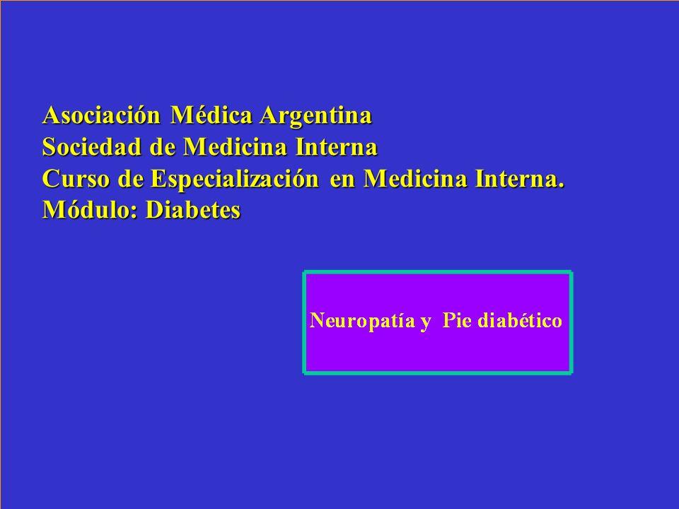 Asociación Médica Argentina Sociedad de Medicina Interna Curso de Especialización en Medicina Interna.