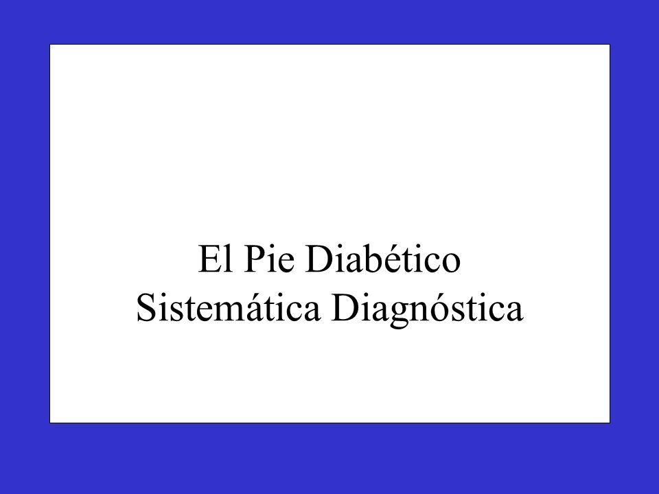 El Pie Diabético Sistemática Diagnóstica