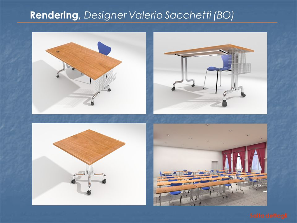 Rendering, Designer Valerio Sacchetti (BO)