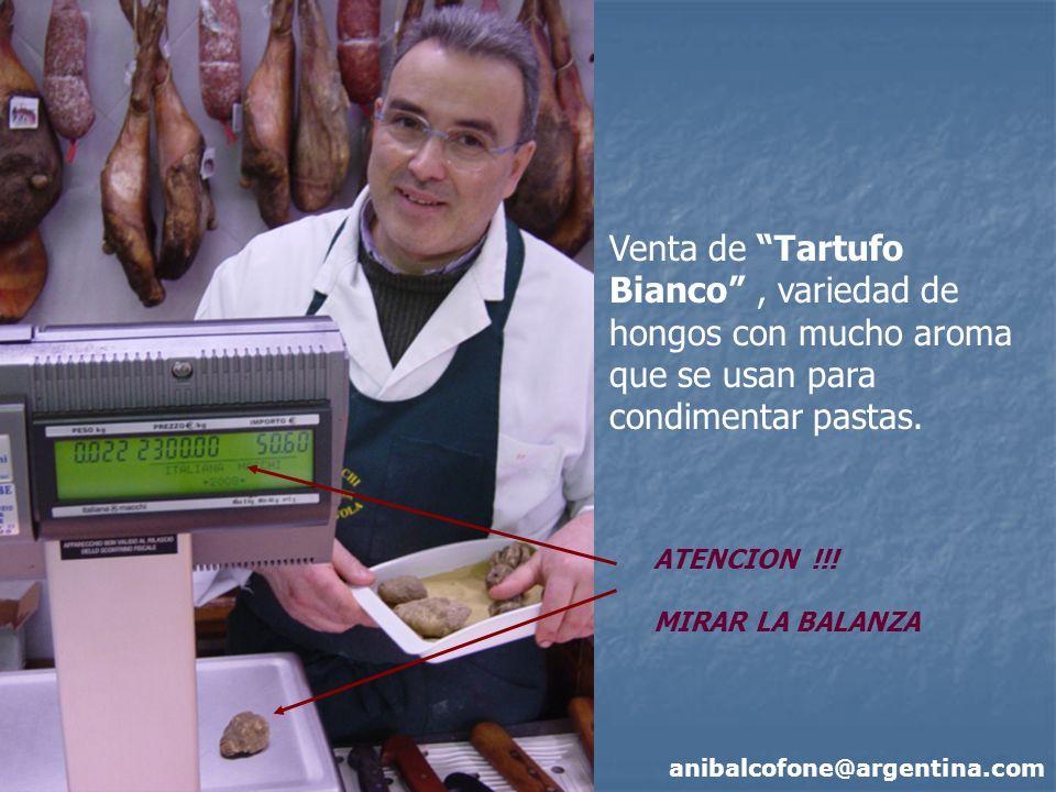 Venta de Tartufo Bianco , variedad de hongos con mucho aroma que se usan para condimentar pastas.