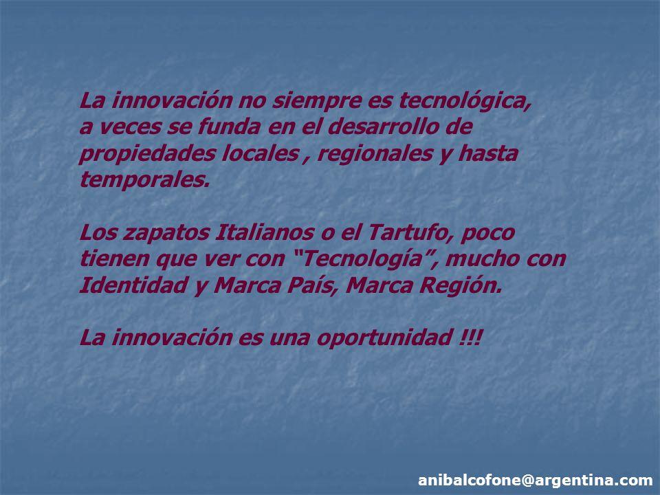 La innovación no siempre es tecnológica,