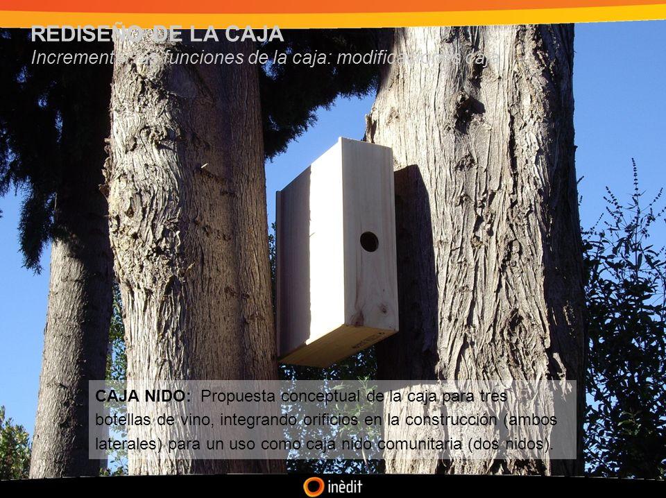 REDISEÑO DE LA CAJA Incrementar las funciones de la caja: modificaciones caja.