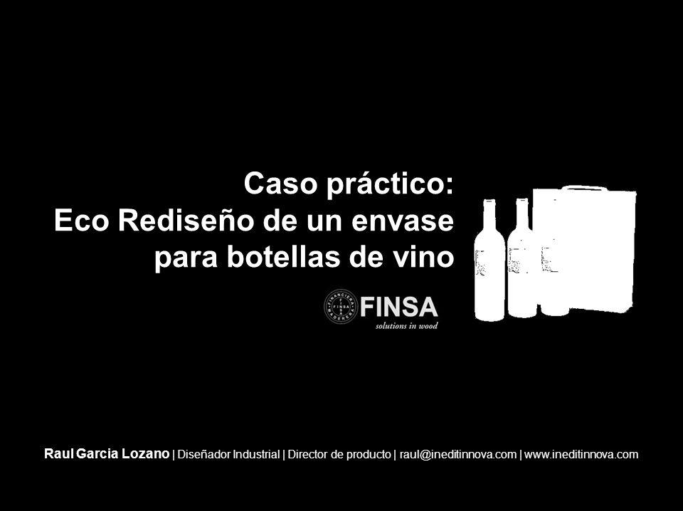 Eco Rediseño de un envase para botellas de vino