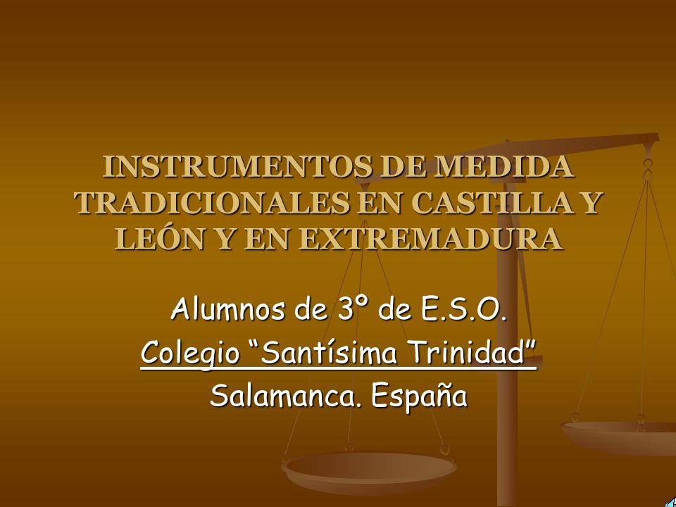 Alumnos de 3º de E.S.O. Colegio Santísima Trinidad Salamanca. España