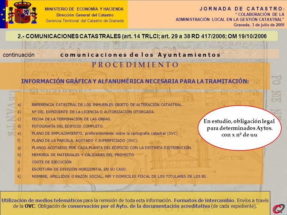 P R O C E D I M I E N T O MINISTERIO DE ECONOMÍA Y HACIENDA
