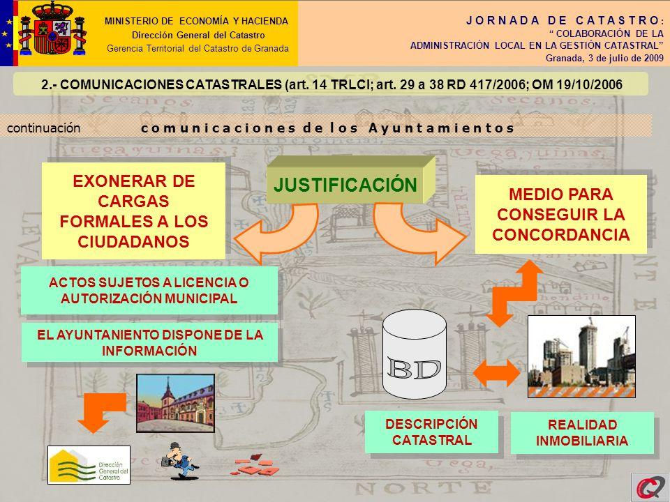 JUSTIFICACIÓN EXONERAR DE CARGAS FORMALES A LOS CIUDADANOS