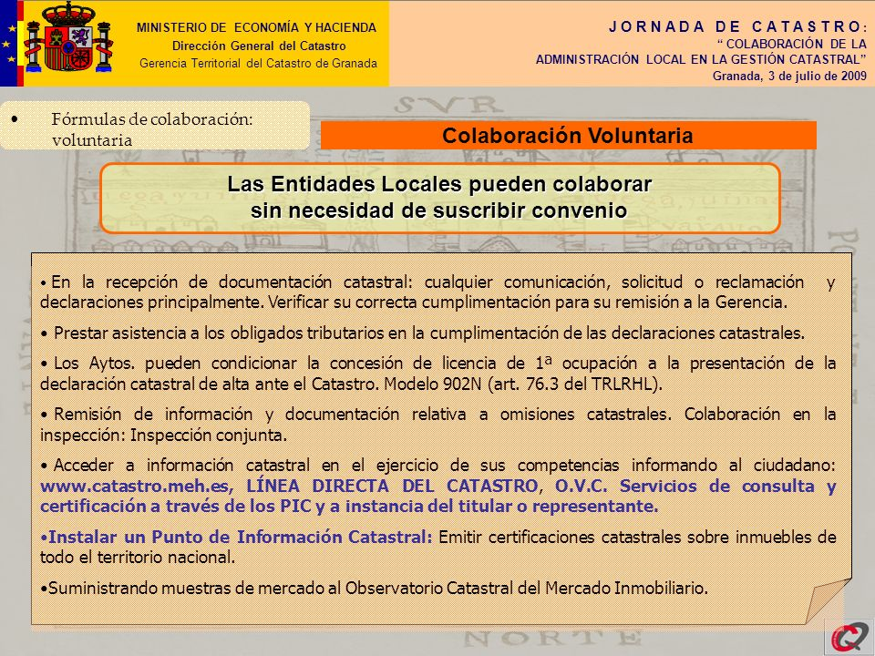Colaboración Voluntaria