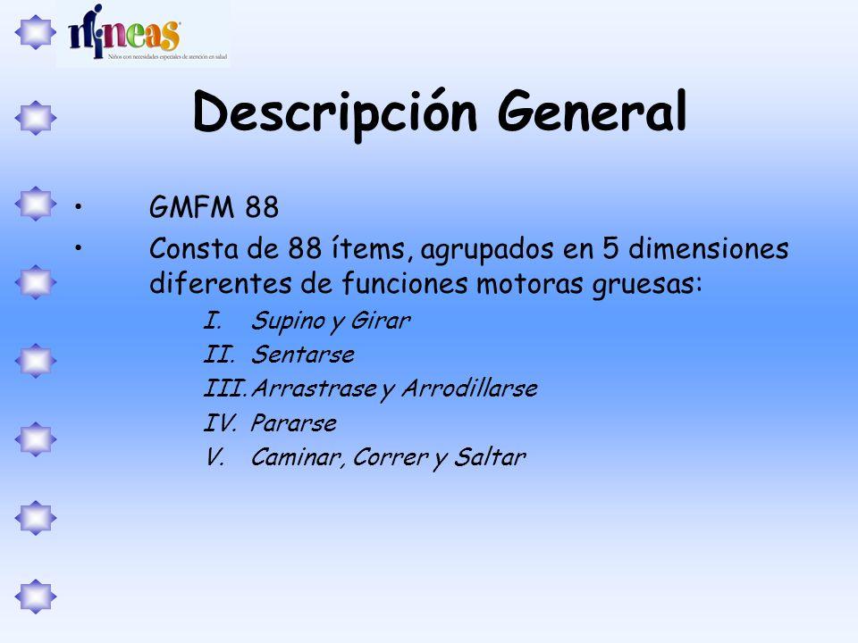 Descripción General GMFM 88